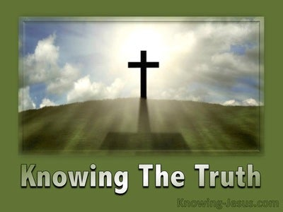 Knowing The Truth (devotional)
